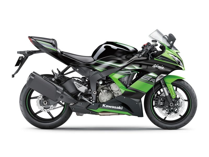 Motocenter Baselland Mietmotorräder Kawasaki ZX-6R